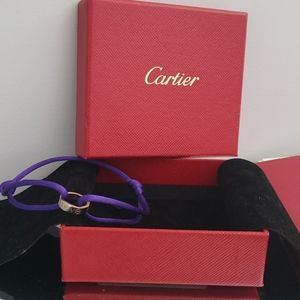 Authentic Cartier Discontinued LOVE Cord Bracelet